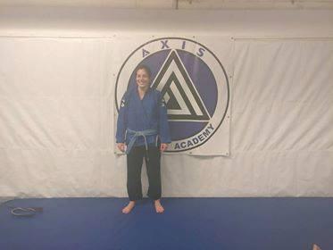 Alice gets her blue belt