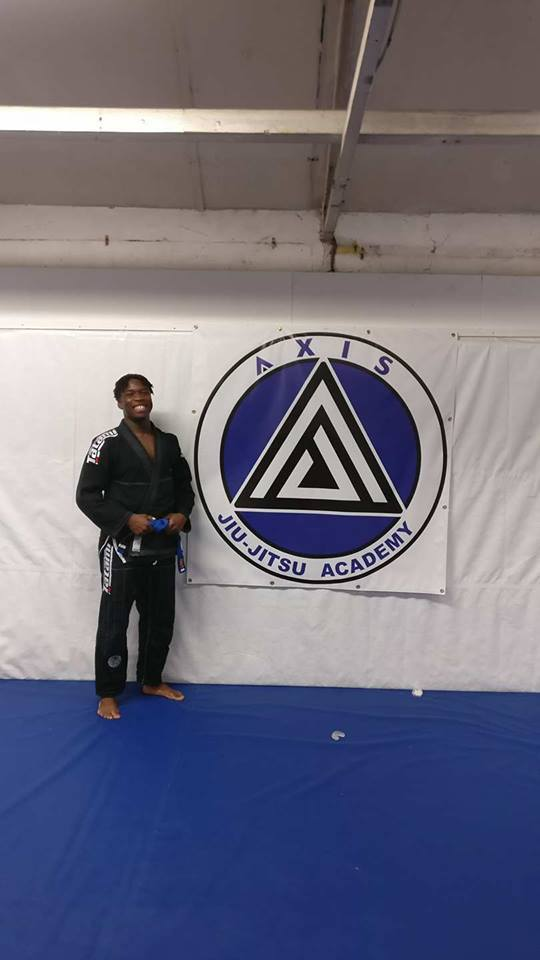 Ivan gets his blue belt